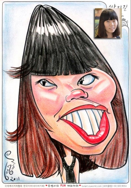 Eric Goodwin Party Caricature