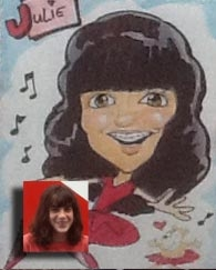 Ty Walls Party Caricature