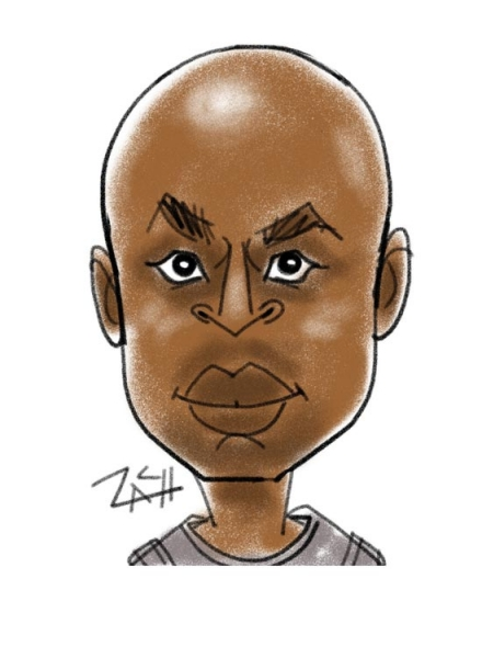 Zach Trenholm Digital Party Caricature