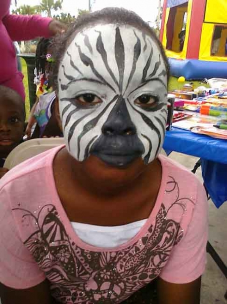 Face Painter Nancy Aili Perko