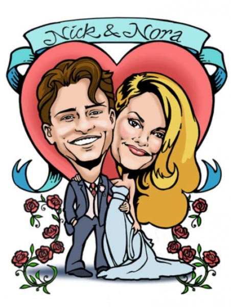 Gift Caricature by Alisa Grodsky