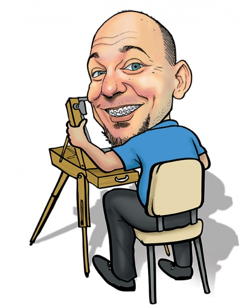 Eric Melton Studio Caricature