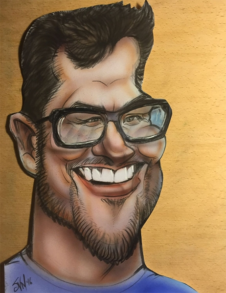 Sam von Mayrhauser Studio Caricature
