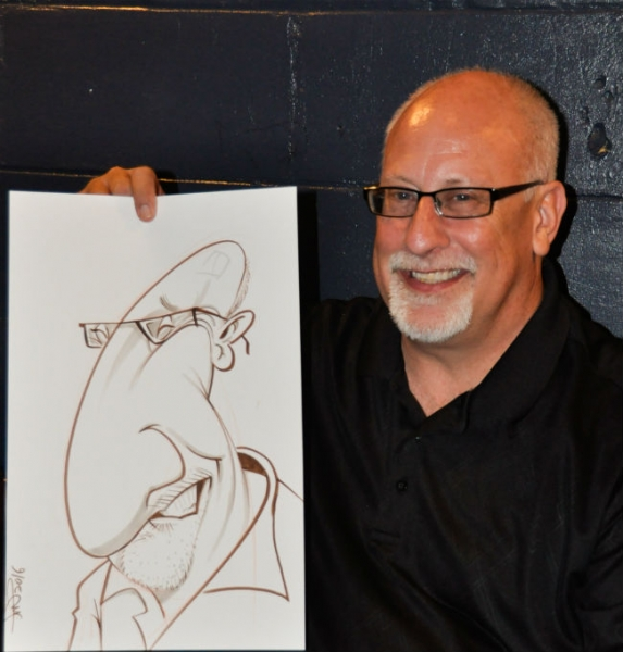 Antwan Ramar Party Caricature