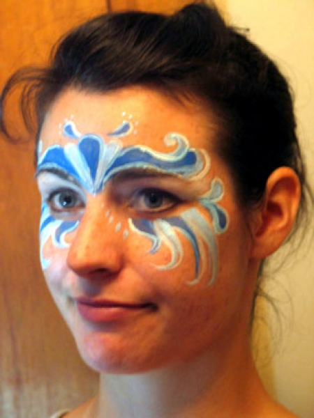 Face painting by Sophy Tuttle