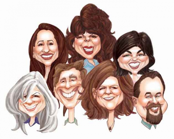 Brooke Howell Studio Caricature