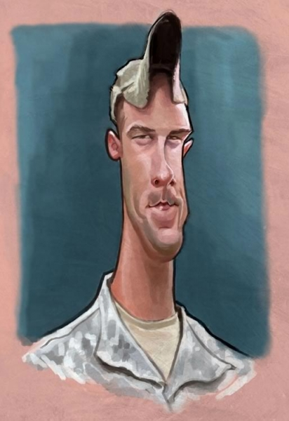 William Appledorn Studio Caricature