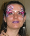 Face painting by Sarah Viviano