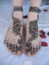 Henna tattoo by Rachna Bhatt