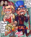 Gift caricature by Sam Klemke