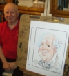 Jerry Gaylord Party Caricature