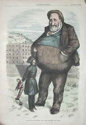 Caricature of Boss Tweed by Thomas Nast