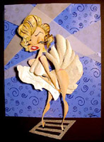 marilyn monroe caricature by lar desouza