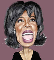 ray shipman caricature of oprah