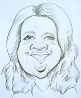 oprah winfrey caricature by robert armbrister