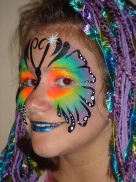 Face painting by Becky Kean
