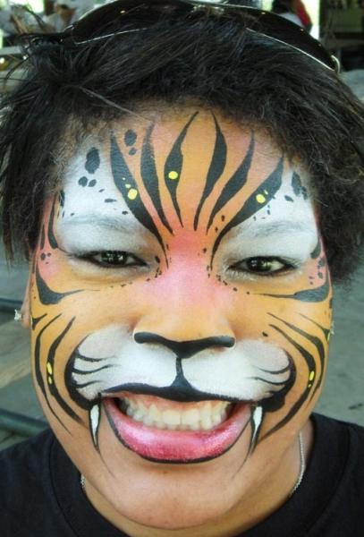 Face painting by Karen Dietzius