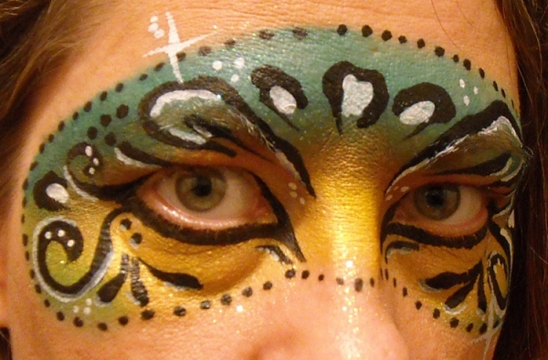 Face painting by Linda Schrenk