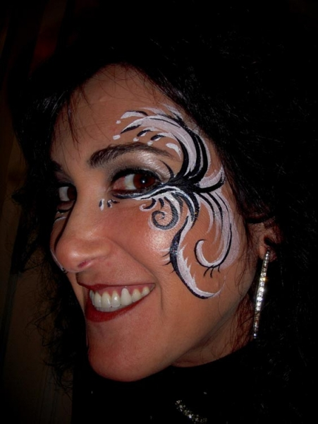 Face painting by Kim Millen