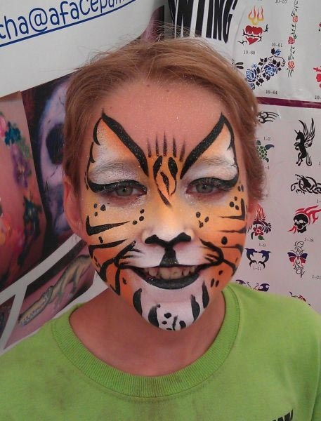Face painting by Martha Robbins