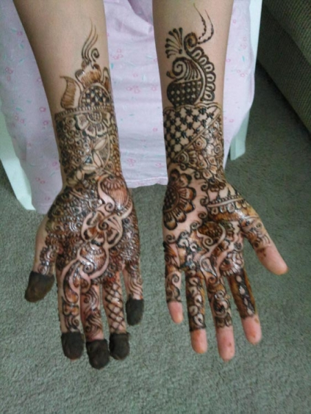 Henna tattoo design by Rachana Dhoot