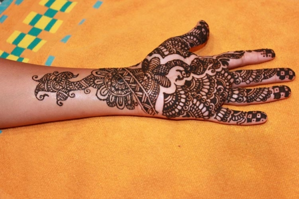 Henna tattoo design by Pratiksha Wasnik