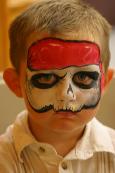 Face painting by Lorrin Wagner
