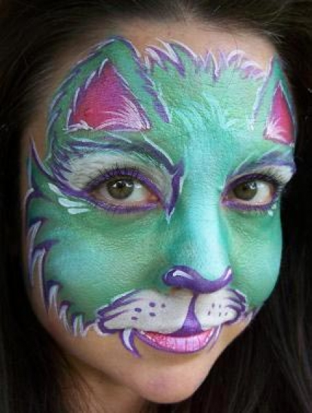 Face painting by Jody Rife