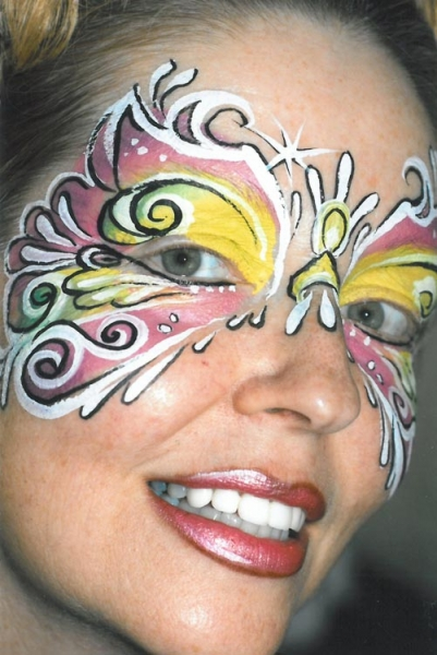 Face painting by Laura Oliver