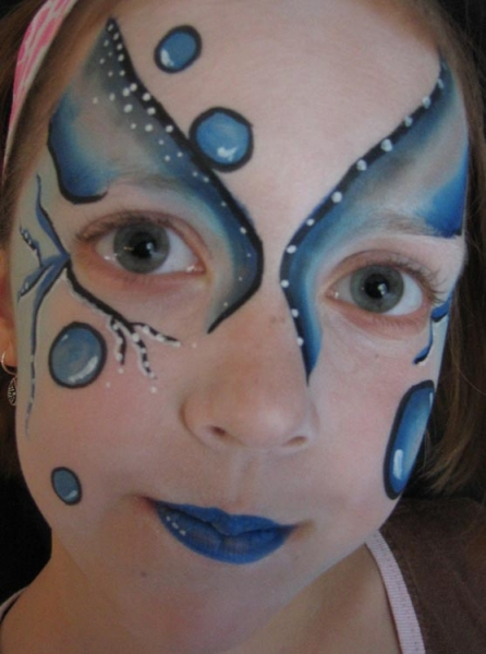 Face painting by Annette Durfee