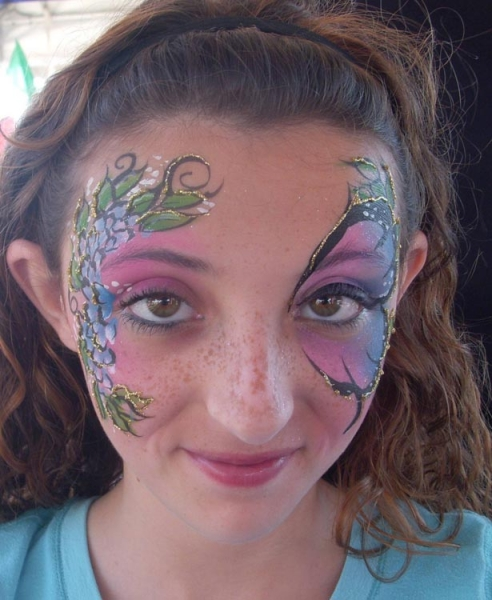 Face painting by Kim Thomas