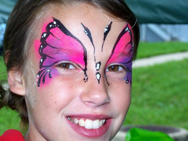 Face painting by Katey-did