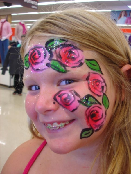 Facepaint by Terrie Mergner