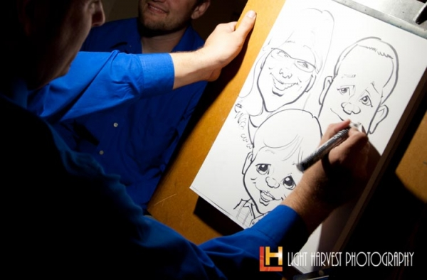Ryan Foerster Party Caricature