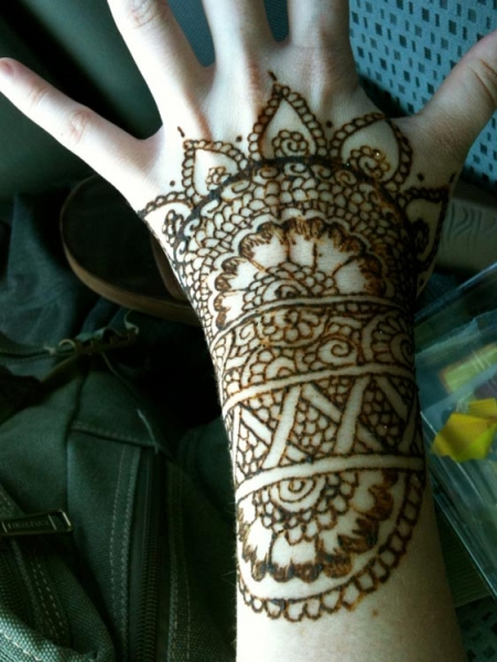 Henna Tattoo by Terra Fender