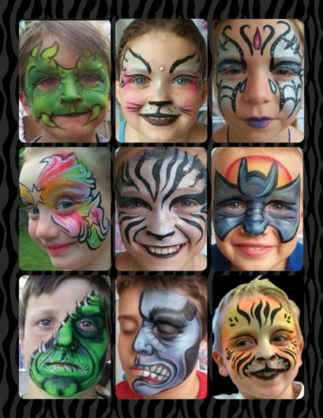 Face paint by Courtney Mead