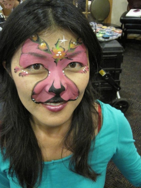 Face paint by Donna Bandurraga