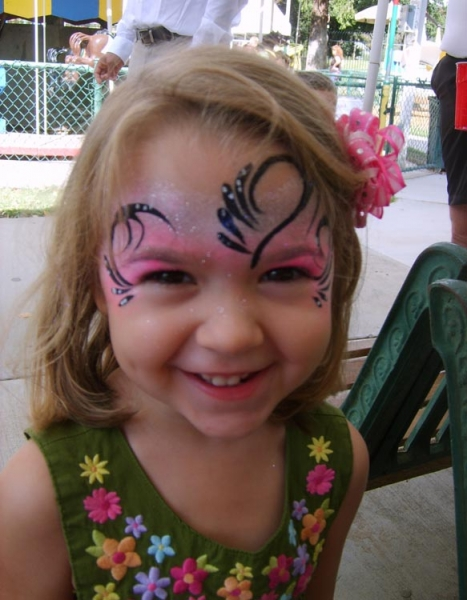 Face paint by Loretta Roberts
