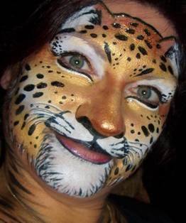 Face paint by Chris Ganowski