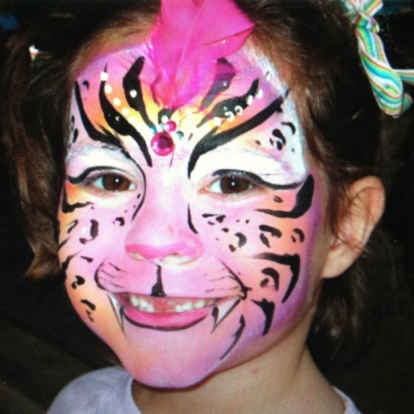Face paint by Katie Taylor