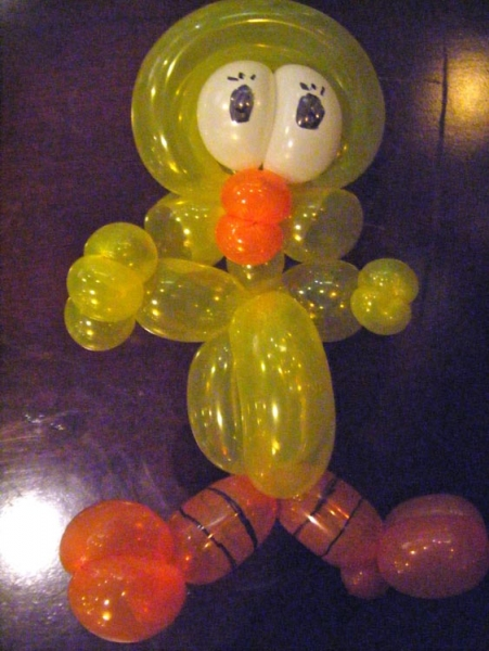 Balloon Sculpture by Jeremy Briggs