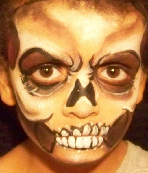 Face paint by Athena Stovall
