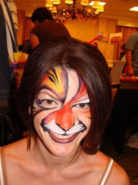 Face paint by Danielle Wright