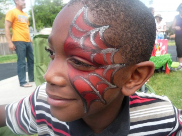 Face paint by Princess Camerian