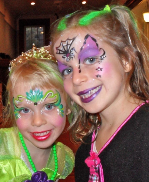 Face paint by Sharon Enlow