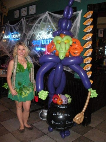 Balloon Sculpture by Harold Shaver