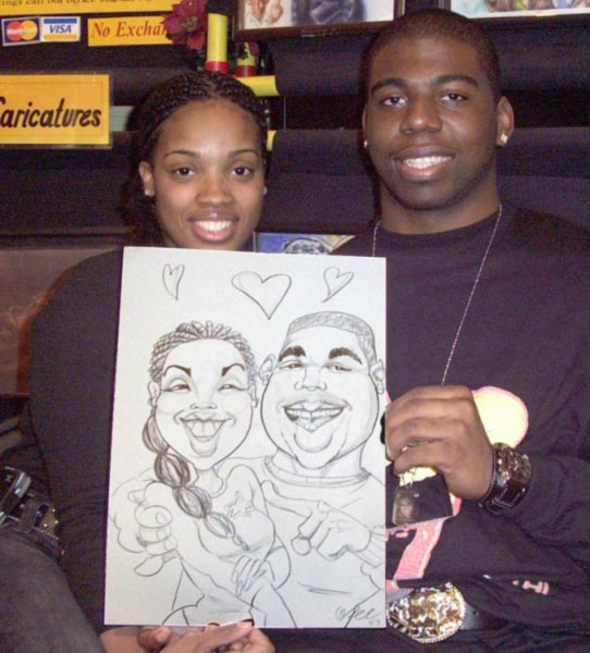 Barton Mcgee Party Caricature