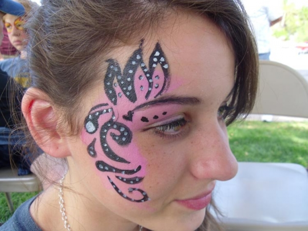 Face paint by Ed Mueller