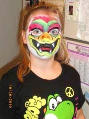 Face paint by Cynthia Jewel