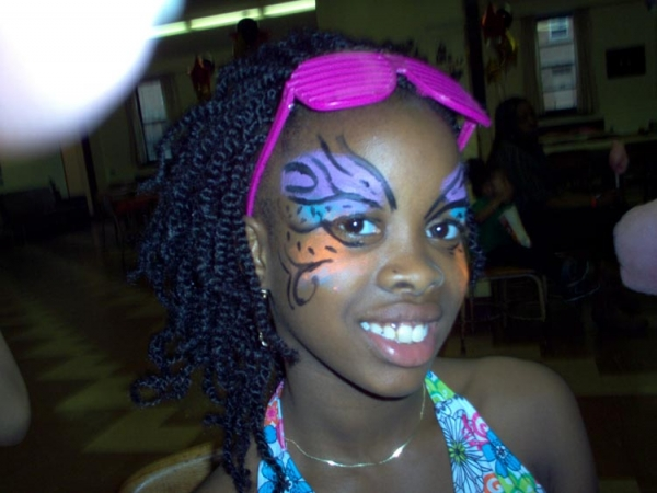 Face paint by Melissa Wallace